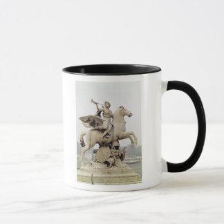Fame Riding Pegasus  1699-1702 Mug