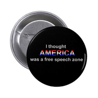 fAmerica free speech zone button