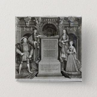Familia Regia 15 Cm Square Badge