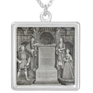 Familia Regia Silver Plated Necklace