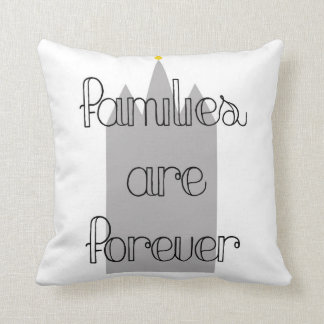 families are forever lds mormon temple, love throw cushions