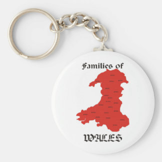 Families of Wales Keychain