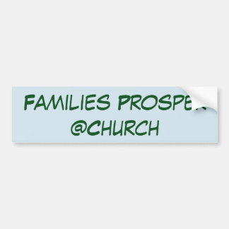 Families Prosper @Church sticker