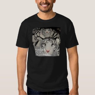 FAMILIES STICK TOGETHER TIGERS TSHIRT