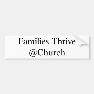 Families Thrive @Church sticker