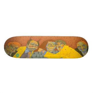 Family 18.1 Cm Old School Skateboard Deck