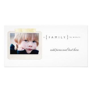Family Adoption Photocards Photo Greeting Card