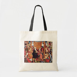 Family Altar Middle Panel: The Mystical Marriage O Budget Tote Bag