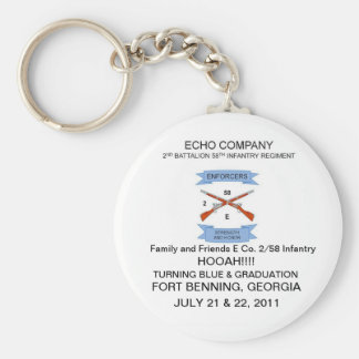 Family and Friends E Co. 2/58 Infantry Keychain