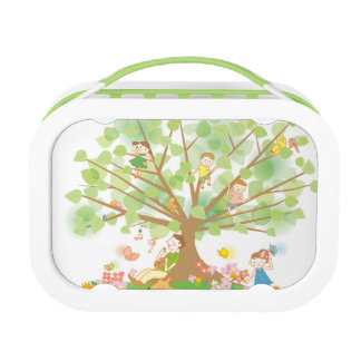 Family and Tree Lunch Box