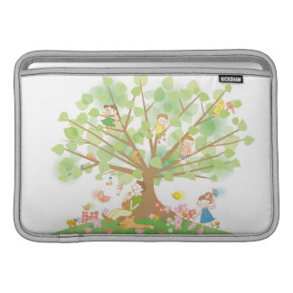 Family and Tree MacBook Air Sleeves