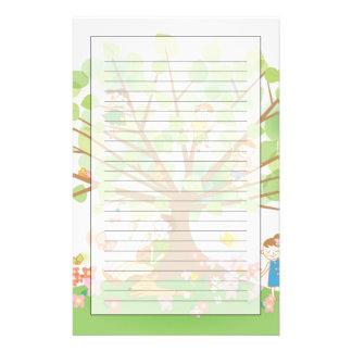 Family and Tree Stationery