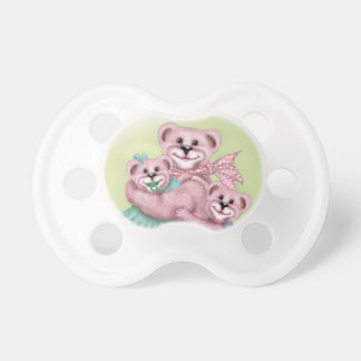 FAMILY BEAR LOVE BooginHead® Custom Pacifier