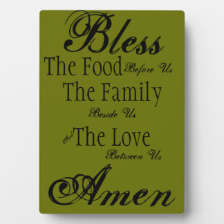 Family Blessing Plaque