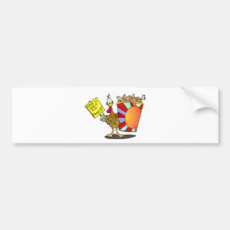 Family Bucket Bumper Sticker