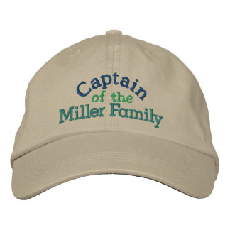 Family Captain Cap by SRF Embroidered Hat