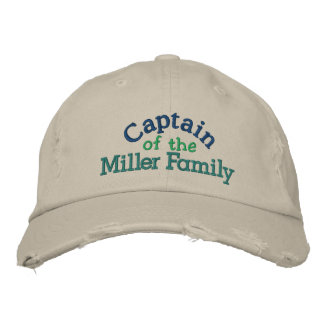 Family Captain Cap - Father s Day Baseball Cap