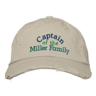 Family Captain Cap - Father's Day Baseball Cap