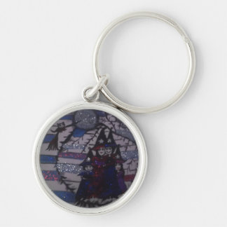 family circle,witches ,by mandy ashby,keychain key ring