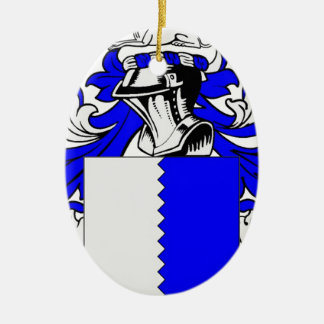 Family Coat of Arms Merchandise Christmas Ornaments