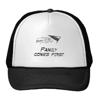 Family comes first trucker hat