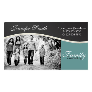 Family Counseling Pack Of Standard Business Cards