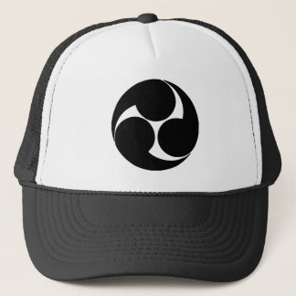 Family crest Japanese Trucker Hat