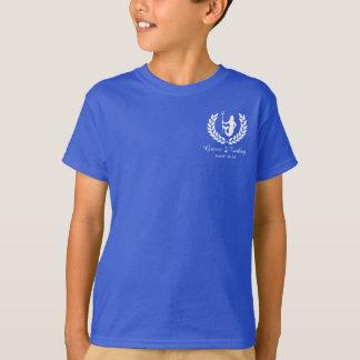Family Cruise Sea God and laurel wreath custom T-Shirt