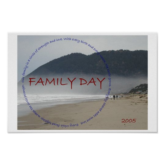 Family Day Poster