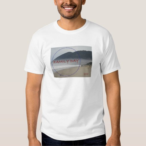 Family Day  T Shirt
