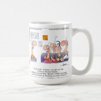 FAMILY DINNER Cartoon Mug