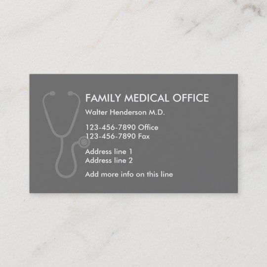 Family Doctor Business Card