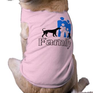 Family Dog Costume Sleeveless Dog Shirt
