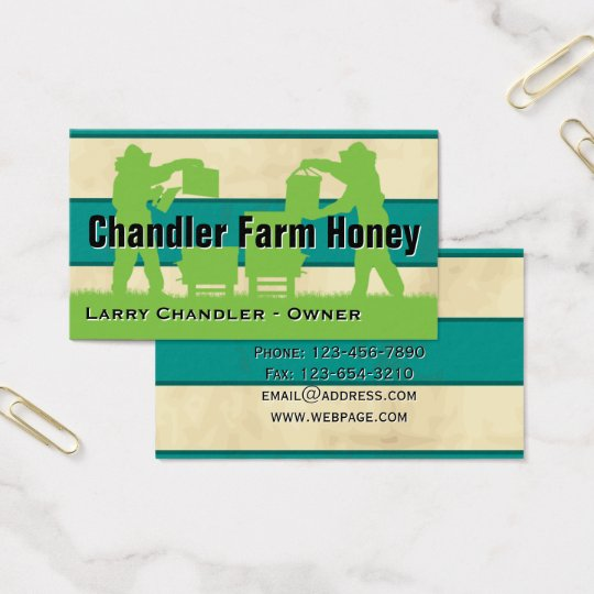 Family Farm Honey Personalised Business Card