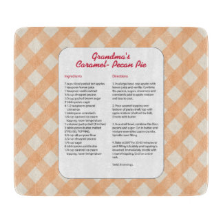 Family Favorite Recipe - Pie Cutting Board