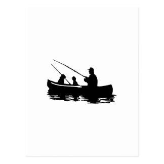 FAMILY FISHING POSTCARD