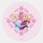 Family Forever Round Sticker