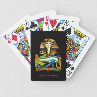 Family Fun - Egyptian Themed Bicycle Playing Cards