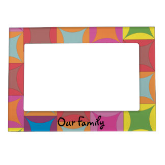Family Fun Magnetic Picture Frame