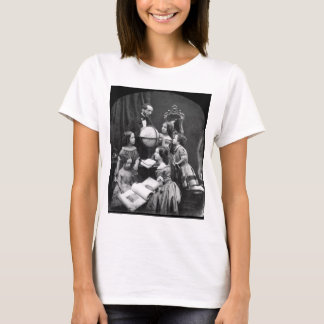 Family Geography Lesson ~ 1850 T-Shirt