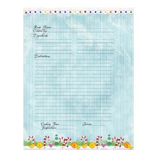 Family Gingerbread Village Christmas Cookbook 21.5 Cm X 28 Cm Flyer