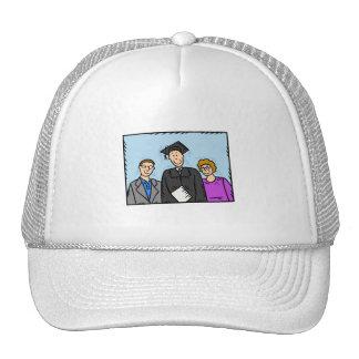 Family graduate hat