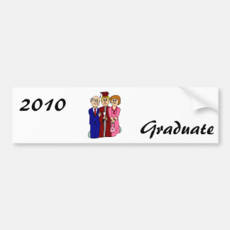 Family Graduation Car Bumper Sticker