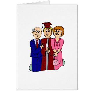 Family Graduation Greeting Card