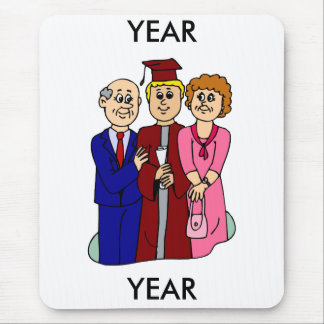 Family Graduation Mousepads