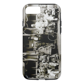 Family Group, c.1900 (b/w photo) iPhone 8/7 Case