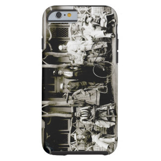 Family Group, c.1900 (b/w photo) Tough iPhone 6 Case