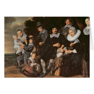 Family Group in a Landscape, c.1647-50 Greeting Card