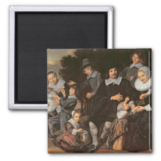 Family Group in a Landscape, c.1647-50 Magnet