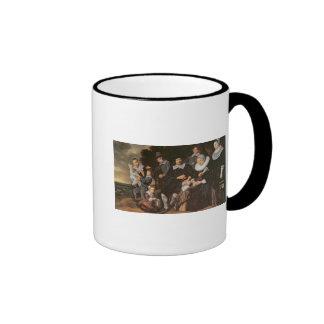 Family Group in a Landscape, c.1647-50 Mug